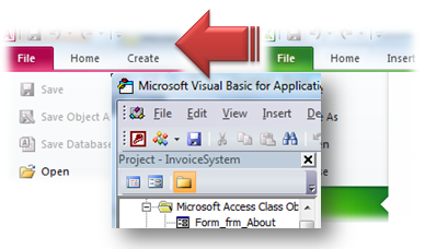 Microsoft Access Database