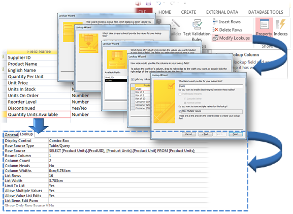 MS Access Multiple Values For A Single Field: A New Data Option