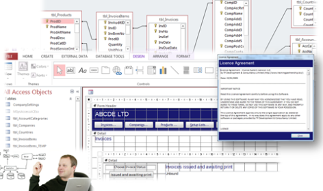 Microsoft Access offers