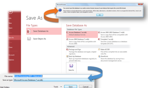 Microsoft Access Databases
