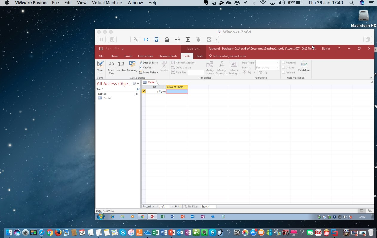 microsoft access database for mac