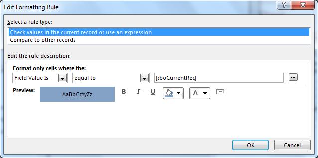 Microsoft Access Form