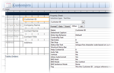 Microsoft Access Forms